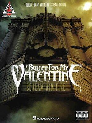 【反拍樂器】Bullet for My Valentine – Scream Aim Fire吉他樂譜 進口樂譜 免運費