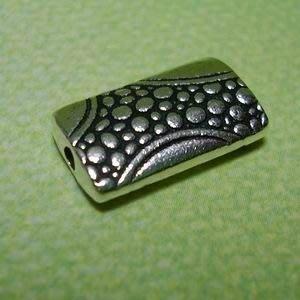 琥珀貓~【925純銀材料配件】造型方珠~N9202~一個