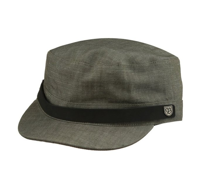 { POISON } BRIXTON BUSKER CAP 經典休閒軍帽 加州風格帽子品牌 工作料深灰