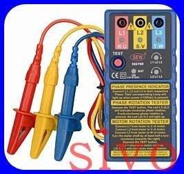 ☆SIVO蘋果商城☆台灣製SEW ST888PMR /ST-888 PMR接觸式檢相計(電子式)相序表 檢相計.檢相表
