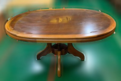 樂居二手家具(中)台中西屯二手傢俱買賣推薦 E120702*半實木圓餐桌* 餐椅 餐桌椅組 各式二手桌椅 休閒桌椅