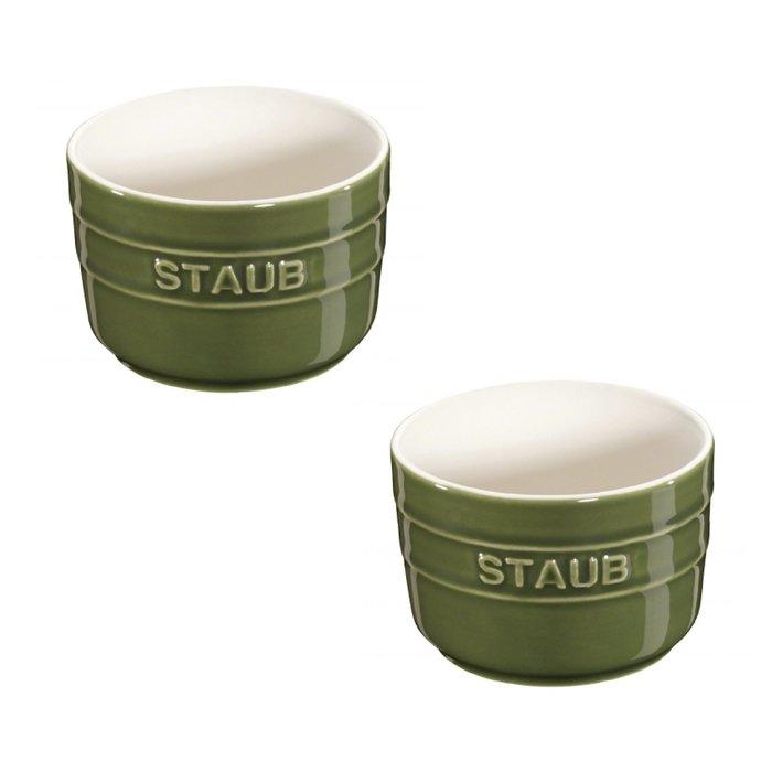 法國 Staub 圓形法式焗烤小盤 xs迷你 1組2個 2色可選