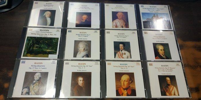 好音悅 Kodaly Quartet Haydn 海頓 弦樂四重奏全集 25CD NAXOS