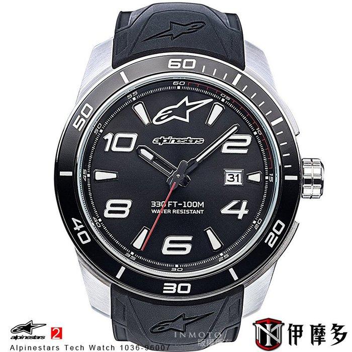 伊摩多※義大利 Alpinestars Tech Watch 手錶 腕錶 運動 奢華時尚 A星 1036-96007