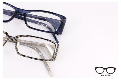【My Eyes 瞳言瞳語】義大利時尚創意X-ICE光學鏡架 方框造型修飾性佳(SMACK)