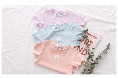 【Mr. Soar】 **清倉** D261 夏季新款 韓國style童裝女童短袖T恤 中大童 現貨
