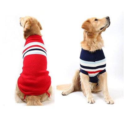 【葉子小舖】秋冬英倫風狗毛衣(大型犬)/狗衣服/毛小孩/小型犬/中型犬/大型犬/寵物用品