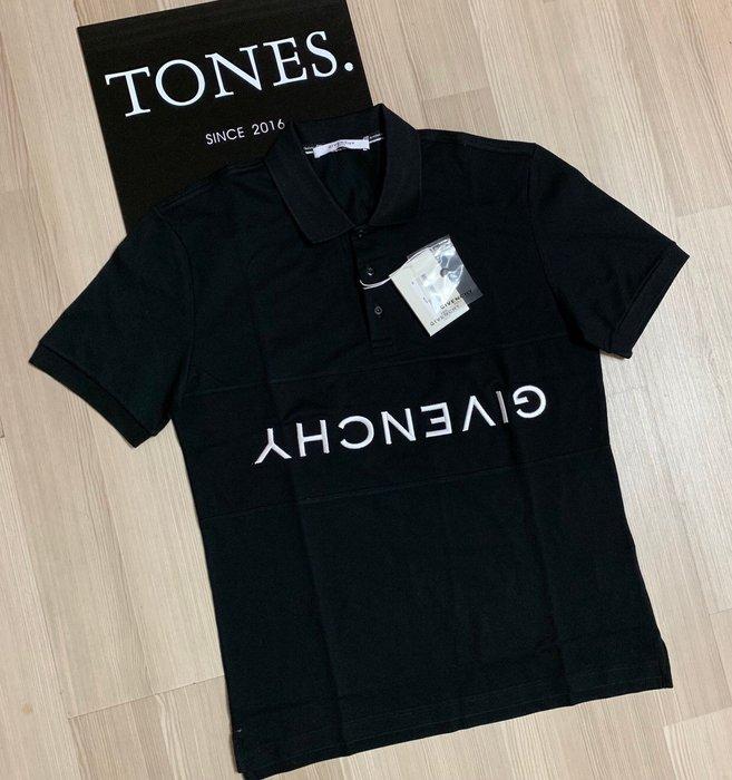 【TONES.】Givenchy 19SS 倒Logo Polo衫 最新款上架