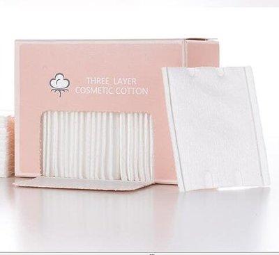 卸妝棉80片三層壓邊化妝棉上妝補水清潔卸妝輕薄  ys15
