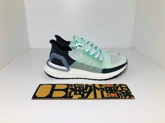 【OB海外連線】Adidas Ultra 19 Boost 5.0 綠 白 湖水綠 蒂芬妮綠 襪套 針織 F35285