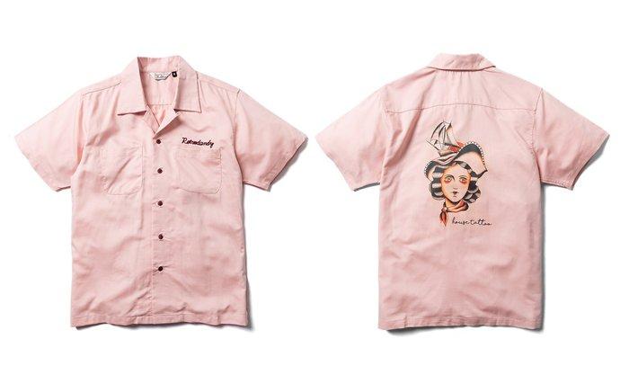 { POISON } RETRODANDY PIN-UP SHIRT 知名刺青師HOUSE聯名設計 復古寬版開襟衫