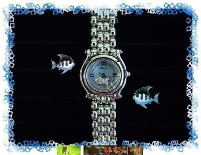 ☆~努努小舖~☆【真品】Chopard蕭邦Happy Diamonds鍊帶鑽錶!附蕭邦原廠保證書, 蕭邦原廠錶盒