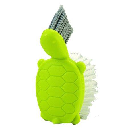 含稅!【日本製】浴室清潔權威_烏龜清潔刷【V型刷頭深入隙縫】【G0017】