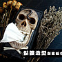㊣娃娃研究學苑㊣骷髏造型創意紙巾盒 面紙盒...