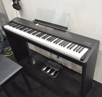 【名人樂器全館免運】Roland FP-50 88鍵 黑色/白色 數位電鋼琴 電子琴 FP50 不含琴架