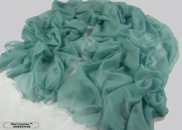 100% cashmere 頂級300支優雅薄菏綠pashmina Shahmina全賣場同價位任2件4000送洗劑