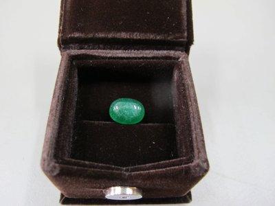 二手舖~NO.219蛋面綠玉隨 滿綠 質地細膩 通透!!做戒指 項鍊都可以喔!