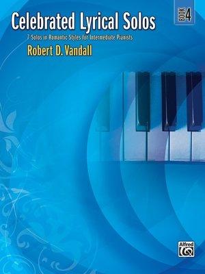 【599免運費】Celebrated Lyrical Solos, Book 4  Alfred 00-29180