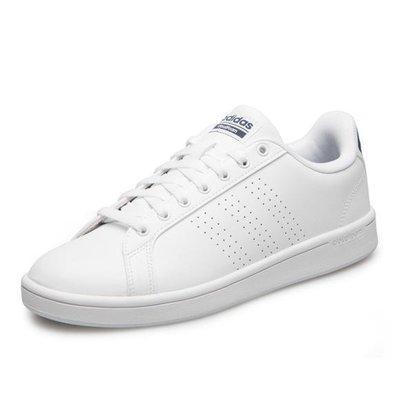 運動GO~ 愛迪達 ADIDAS CF ADVANTAGE CL 休閒鞋 BB9624 全白 鞋墊柔軟 舒適皮革面