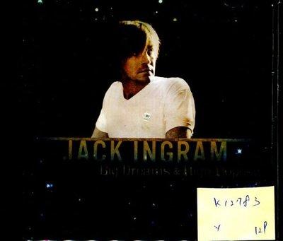 *真音樂* JACK IN GRAM / BIG DREAMS & HIGH HOPES 二手 K12783 (封底破) (下標賣)