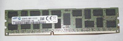 全新ddr3-1600單條8g三星ecc reg伺服器registered 2rx4 8gb記憶體pc3l-12800r