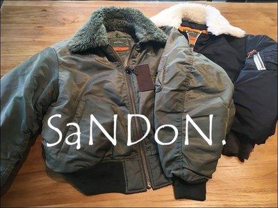 SaNDoN x『SLY』搶先官網精緻花朵刺繡毛領可以拆保暖飛行MA-1翻領外套 moussy 171215