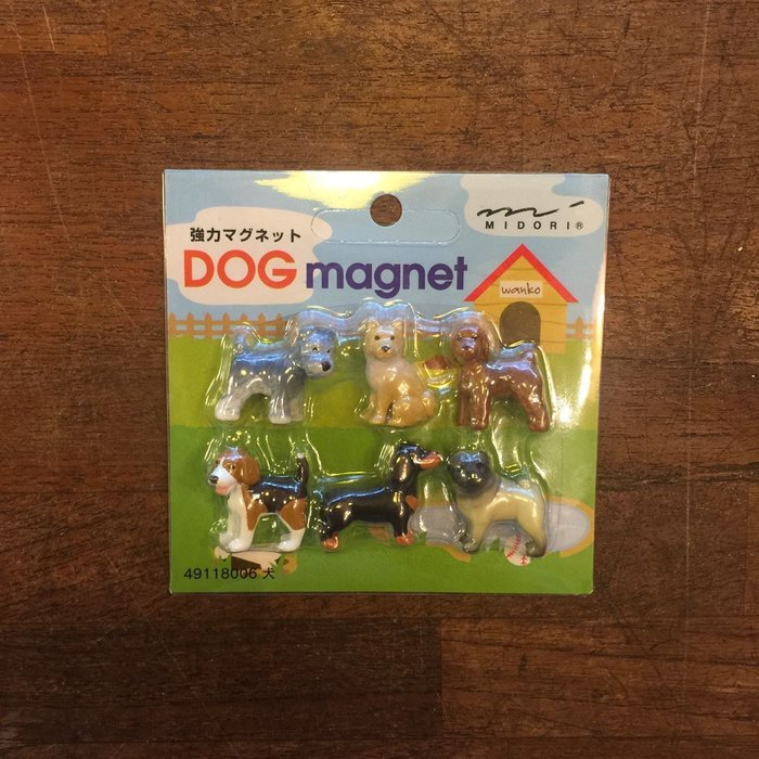 特價SALE。日本帶回。狗狗造型。強力磁鐵。冰箱貼。6入。台北西門歡迎自取。辦公室療癒小磁鐵。現貨