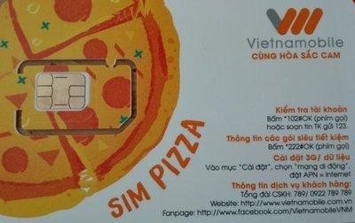 〈寶媽雜貨小舖〉越南 Vietnamobile 電信 30日每日4gb流量上網卡