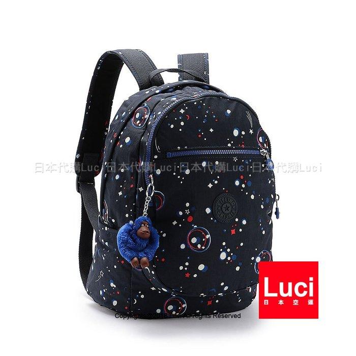 KIPLING CLAS CHALLENGER 銀河派對 15016 後背包 書包 小猴子 LUCI日本代購