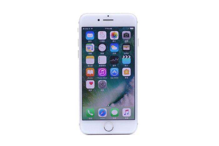 【台中青蘋果】Apple iPhone 7 銀 128G 128GB 二手 4.7吋 蘋果手機 #19978