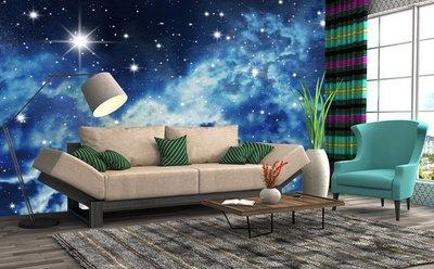 客製化壁貼 店面保障 編號F-549 銀河星空 壁紙 牆貼 牆紙 壁畫 星瑞 shing ruei