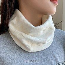 寒流來襲暖暖價EmmaShop艾購物-日韓美人秋冬限定針織2用圍脖/帽子