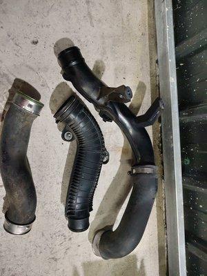 六代Tiguan2.0tsi原廠渦輪管組