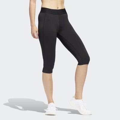 【豬豬老闆】ADIDAS ALPHASKIN 緊身褲 五分褲 排汗 休閒 運動 慢跑 訓練 女款 FJ7169