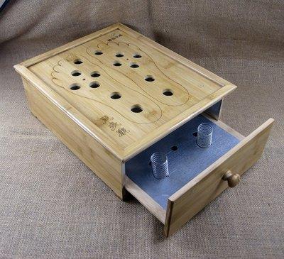 足部艾灸盒熏腳器家用足底放艾絨的足灸盒竹製足療器腳部艾灸CYSH22938