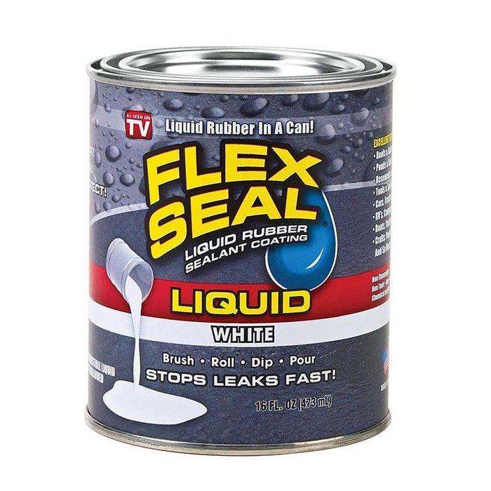 聚吉小屋抖音爆款Flex Seal 強力萬能膠水 柔性密封液體密封膠涂層清柔性