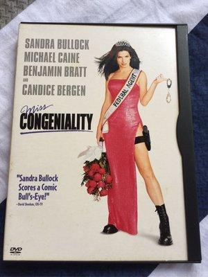 二手DVD-麻辣女王 miss Congeniality