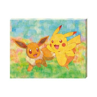 尼德斯Nydus 日本正版 限量 神奇寶貝 Pokemon GO 精靈寶可夢 皮卡丘 壁掛畫 室內裝飾 藝術拼圖 預購