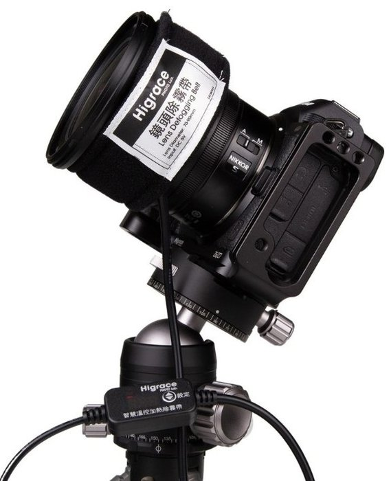 呈現攝影-HIGRACE 智慧溫控除霧帶/加熱帶 鏡頭防霧 設備加熱 縮時攝影 夜拍 雲海 星軌 琉璃光 銀河