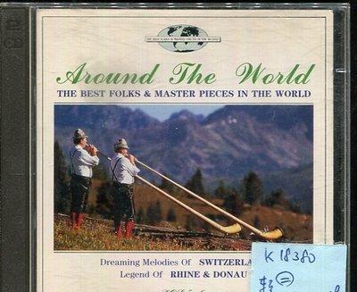 *真音樂* AROUND THE WORLD / THE BEST FOLKS 2CD 二手 K18380
