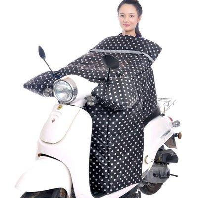 晨曦市集 保暖手套電動車擋風被冬季加絨加大加厚電瓶摩托自行車擋腿罩衣保暖秋新款Y0860CX687