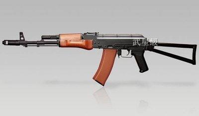 台南 武星級 SRC AK74S 全金屬 電動槍 三代(AK47 AKM PMC BB槍玩具槍步槍狙擊槍卡賓槍衝鋒槍