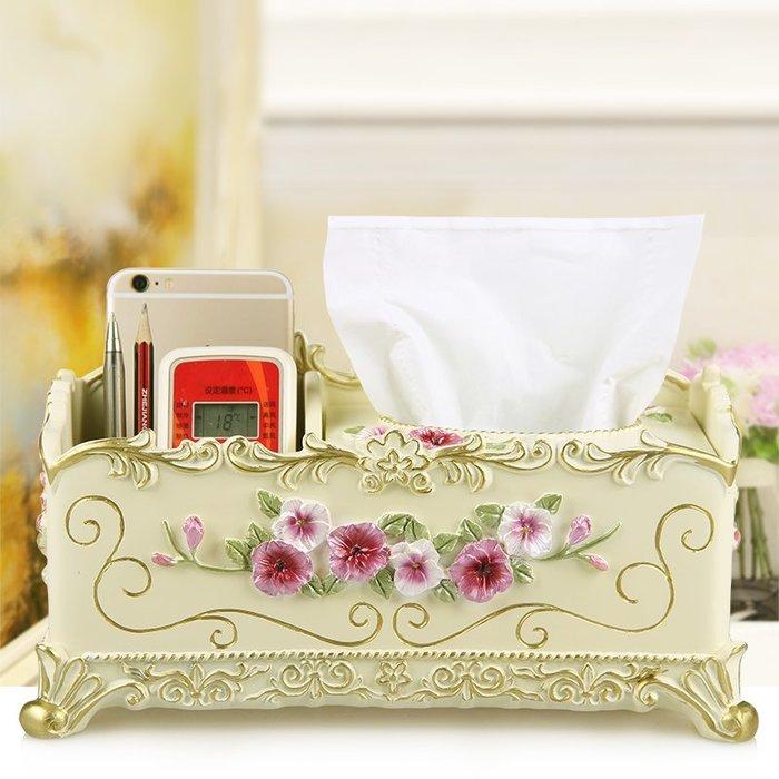 千夢貨鋪-酒店紙巾盒客廳家用可愛公主紙巾收納盒遙控器茶幾多功能化妝收納#收納盒#牙籤盒#紙巾盒#棉簽盒#創意
