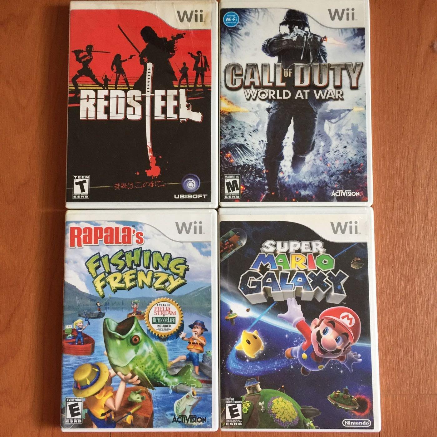 Wii 二手遊戲片 出清