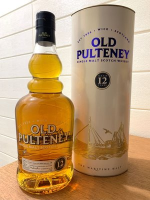 順豐站免郵🌹Old Pulteney 12 Y Single Malt Scotch Whisky舊裝