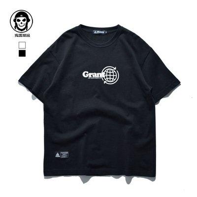 歐美街頭 滑板文化衫 字母 惡搞2019春夏新款 ins寬松短袖T恤男女