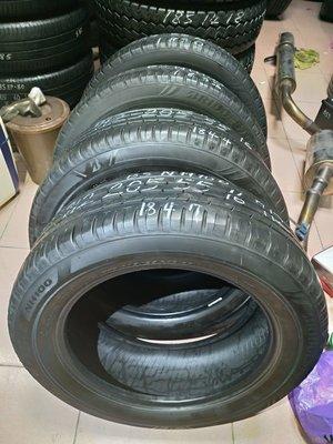 205 55 R 16 18年製造 普利司通 NH100 落地 胎 二手 中古 輪 胎 一輪1300元