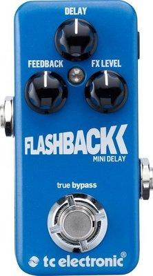 ☆ 唐尼樂器︵☆ TC Electronic Flashback Mini Delay 數位殘響 單顆 效果器