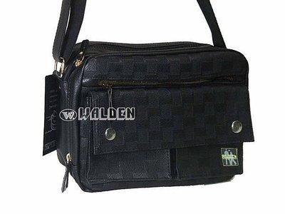 《葳爾登》Spitfire休閒側背包小電腦包書包後背包公事包隨身包斜背包皮包紳士包2152黑