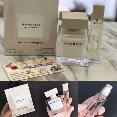 Narciso EDP女士濃香水套裝50ml+10ml